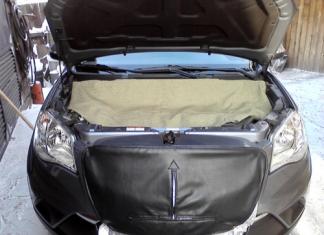Утепление двигателя автомобиля