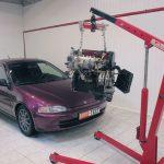 Замена двигателя автомобиля на более мощный нюансы