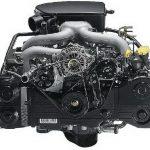 Оппозитный дизельный двигатель Субару