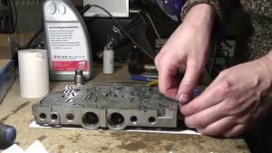 Чистка гидроблока промывка гидроблока