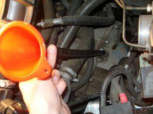 Как залить масло в коробку передач