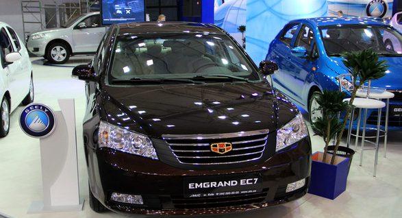 Китайские авто с АКПП