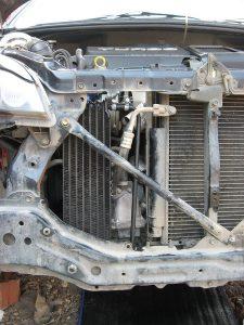Чистка радиатора АКПП