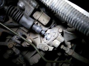 Замена тросика коробки передач