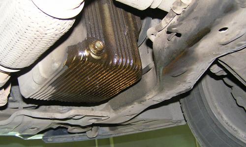 Утечка масла КПП течь масла коробки передач причины ремонт