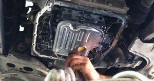 Как поменять масло в АКПП Lada Granta