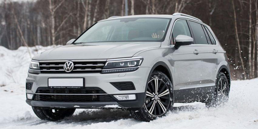 Новый Фольксваген Тигуан 2 DSG Volkswagen Tiguan NEW DSG