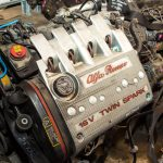Контрактный двигатель и коробка