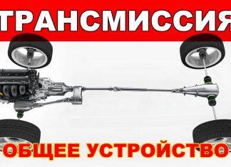 Что входит в трансмиссию автомобиля элементы