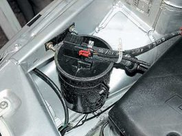 Адсорбер в машине клапан адсорбера абсорбер в автомобиле