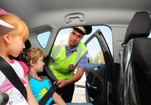 Правила перевозки детей в автомобиле ПДД