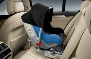Как установить детское автокресло автолюльку