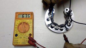 Проверка диодного моста тестером мультиметром