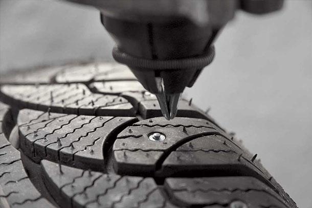 Ошиповка шин ремонтные шипы