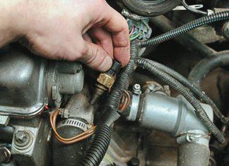 Как проверить датчик температуры охлаждающей жидкости двигателя способы