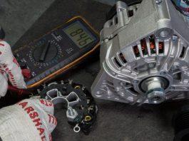 Проверка диодного моста генератора мультиметром