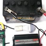 Зарядка необслуживаемых аккумуляторов