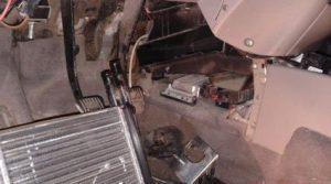 Лада Калина замена радиатора отопителя Калина без снятия приборной панели