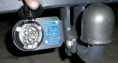 Подключение розетки прицепа розетка фаркопа как подключить