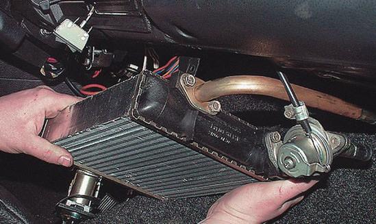 Печка ВАЗ 2107 устройство отопителя 2107 неисправности ремонт печки ВАЗ