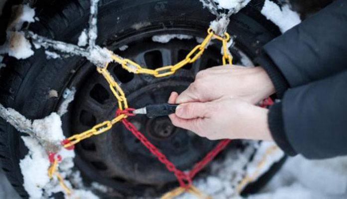 Цепи на колеса цепь противоскольжения своими руками