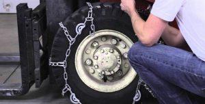 Самодельная цепь противоскольжения на колеса своими руками