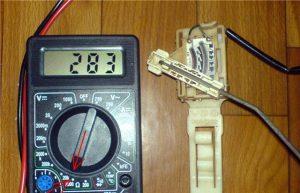 Как проверить датчик уровня топлива мультиметром