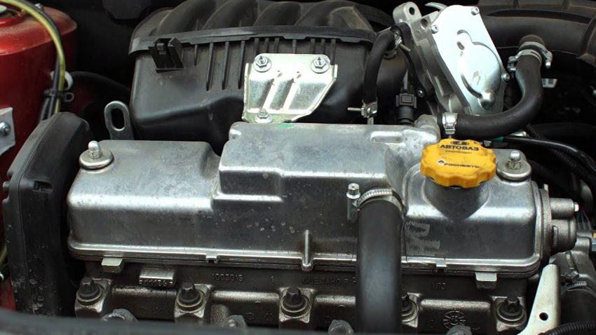 Двигатель ВАЗ 21116 8 клапанный мотор Лада Гранта