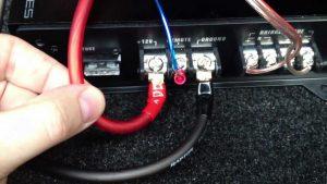 Провода на усилитель в автомобиле