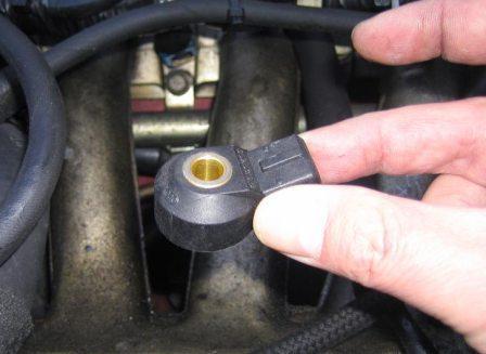 Датчик детонации двигателя проверка замена