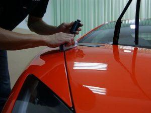 Покрытие кузова автомобиля