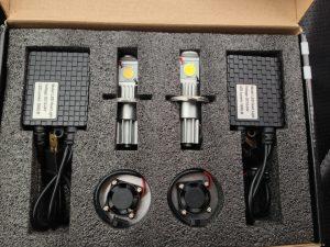 Светодиодные лампочки в фары автомобиля