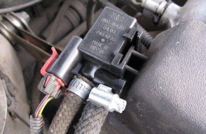 Клапан адсорбера признаки неисправности как проверить клапан адсорбера