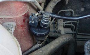 Замена клапана адсорбера