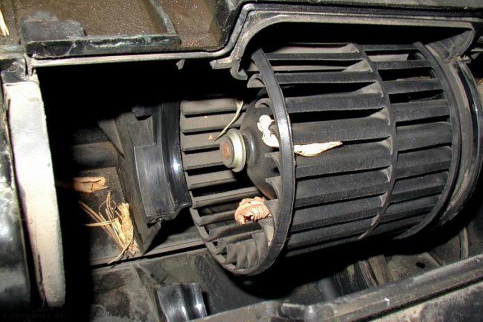 Как заменить моторчик печки ВАЗ 2114 замена вентилятора печки ВАЗ 2115