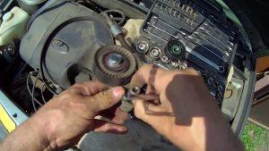 замена ремня генератора Калина 16 клапанов