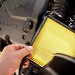 Воздушный фильтр двигателя когда менять