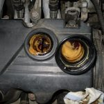 Эмульсия на щупе в масле двигателя эмульсия