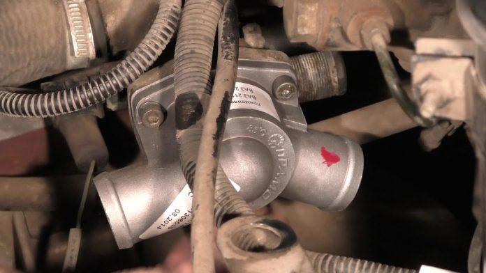 Замена термостата ВАЗ 2114