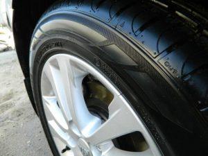 Чернение колес автомобиля