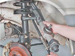 Как снять рулевую рейку ВАЗ 2114