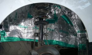 Шумка арок колес