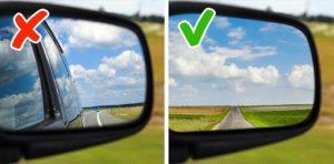Как правильно настраивать зеркала в машине
