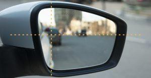 Как настроить боковые зеркала в авто правильно