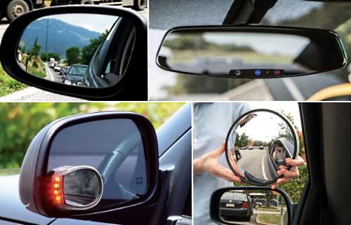 Правильная регулировка и настройка зеркал в машине
