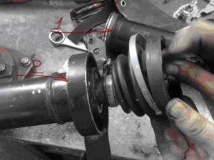 Подвесной кардана неисправности ремонт