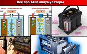 АГМ аккумулятор устройство