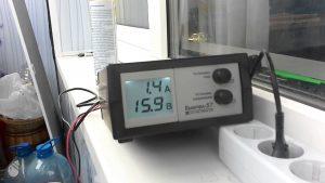 Зарядное устройство для кальциевого аккумулятора