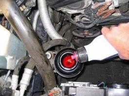 Замена жидкости ГУР Форд Фокус 2 своими руками