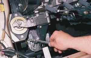Замена генератора ВАЗ 2110